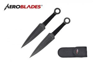 Picture of Aeroblades 2 Piece Stone Washed Throwing Knife Set