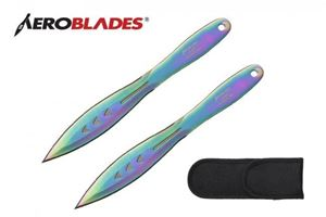 Picture of Double Edged Throwing Knives Set