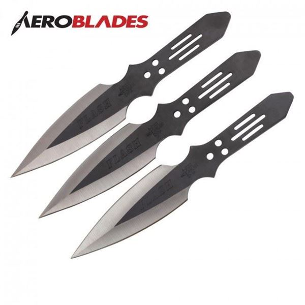 Picture of Black Flash Throwing Knives