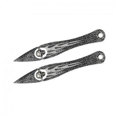Picture of 2 Floating Skull Throwing Knives