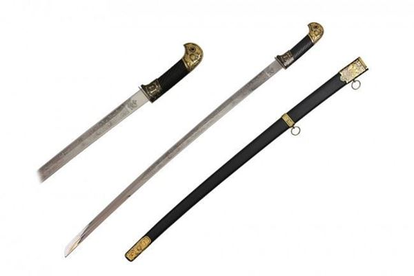 Picture of Black Russian Officer Sword