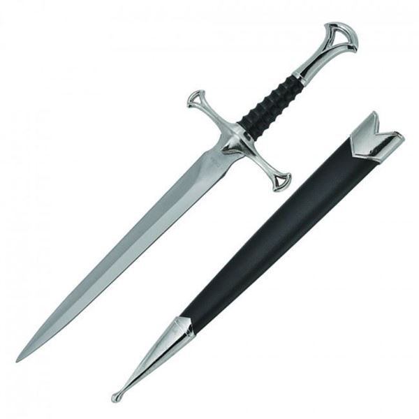 Picture of Medieval Dagger With Black Scabbard