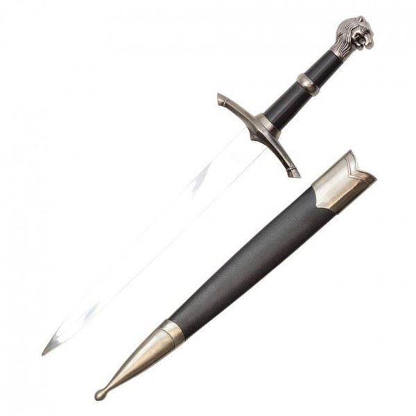 Picture of 15 inch overall Lion head Medieval Dagger