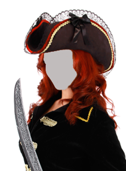 Picture of Lady Buccaneer Tricorn