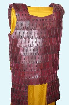 Picture of Full Cuirass Lamellar Leather Armor with Tassets