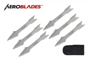 Picture of Aeroblades 6 Piece Throwing Knife Set.