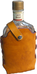 Picture of Leather Pint Alcohol Cover