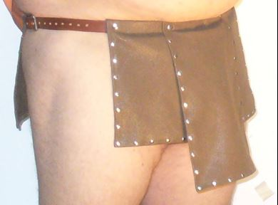 Picture of Leather Kilt, Roman