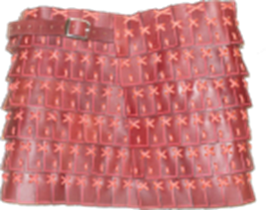 Picture of Young Miss Lamellar Skirt