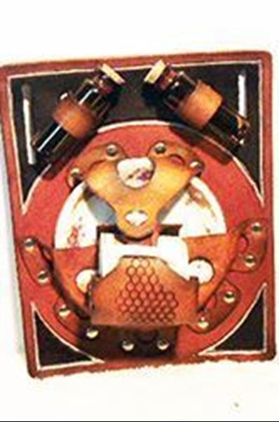 Picture of Cup and Saucer Display Holster w/Amber Vials